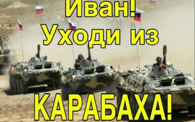 İvan, uxodi iz Karabaxa!