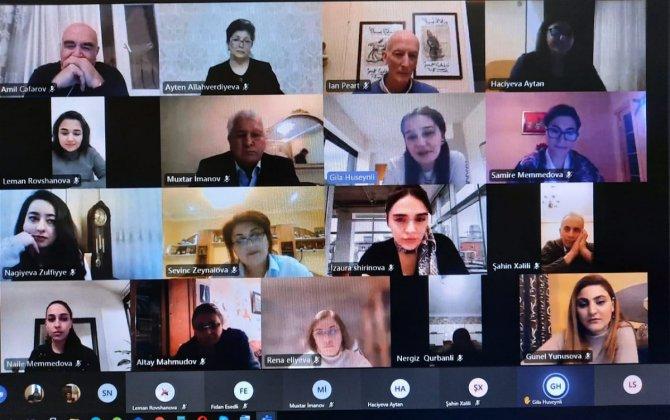 ADU-da İngilis jurnalisti İan Pirtsin iştirakı ilə Xocalı faciəsinə həsr olunan anım tədbiri keçirilib