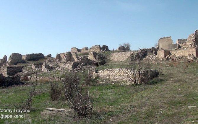 Cəbrayıl rayonunun Ağtəpə kəndindən görüntülər - FOTO/VİDEO