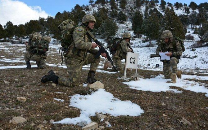 Azərbaycan Ordusunun desantları Türkiyədə təlim keçir - FOTO