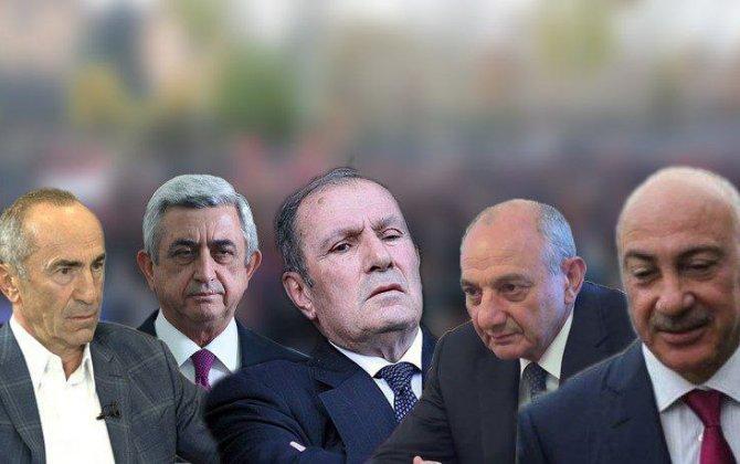Ermənistanın eks-prezidentləri Paşinyana qarşı