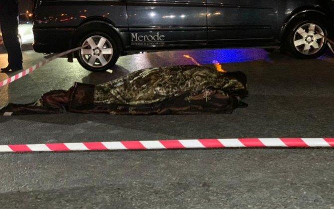 Bakıda Hava limanı istiqamətində şossedə piyadanı avtomobil vuraraq öldürüb - FOTO
