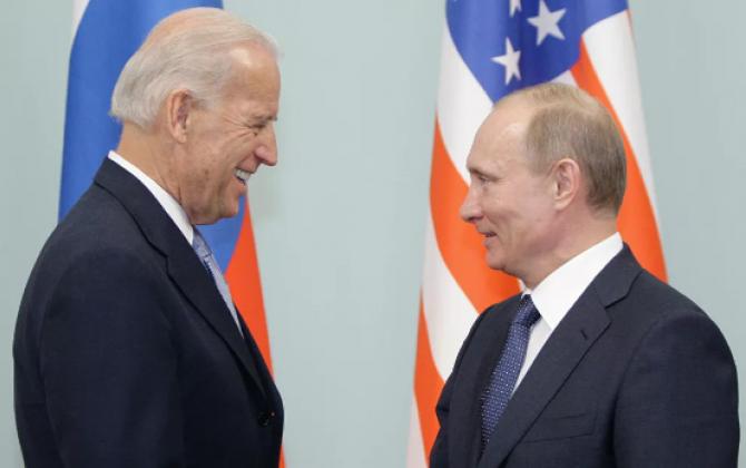 """Bayden Putini hədələdi: """"Əgər Rusiya düşüncəsiz və ya aqressiv hərəkət etsə..."""""""