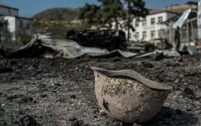 Füzulidə erməni hərbçisinin meyiti aşkarlandı
