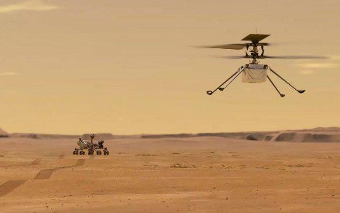 Marsda helikopterin ilk sınaq uçuşu keçiriləcək