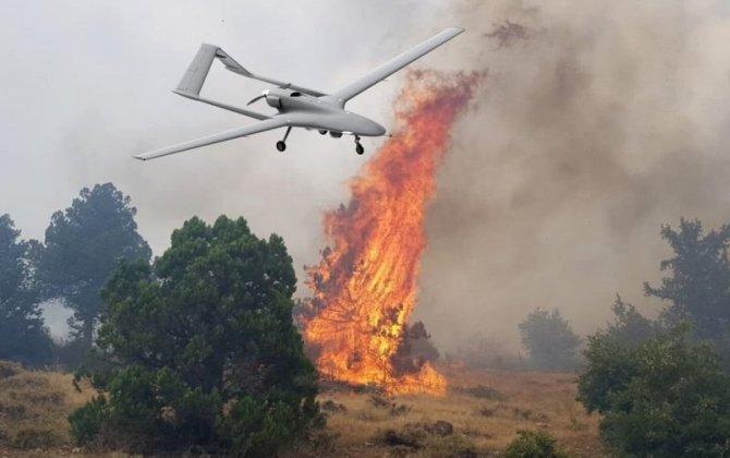 Meşə yanğınlarına pilotsuz uçuş aparatları ilə nəzarət ediləcək