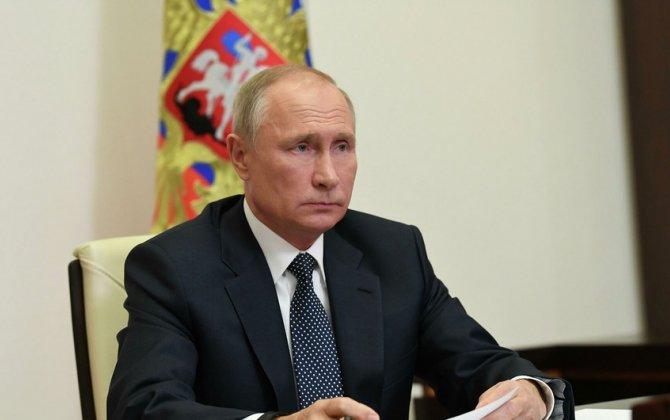 Putin Rusiya Federal Məclisi qarşısında illik müraciətlə çıxış edir