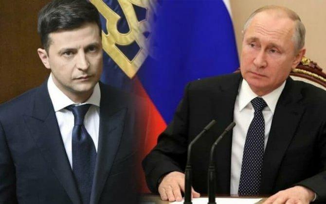 Zelenski Putini Donbasda görüşməyə dəvət etdi
