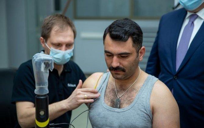 Qazilərimizin yüksək texnologiyalı protezlərlə təminatına başlanılır - FOTO