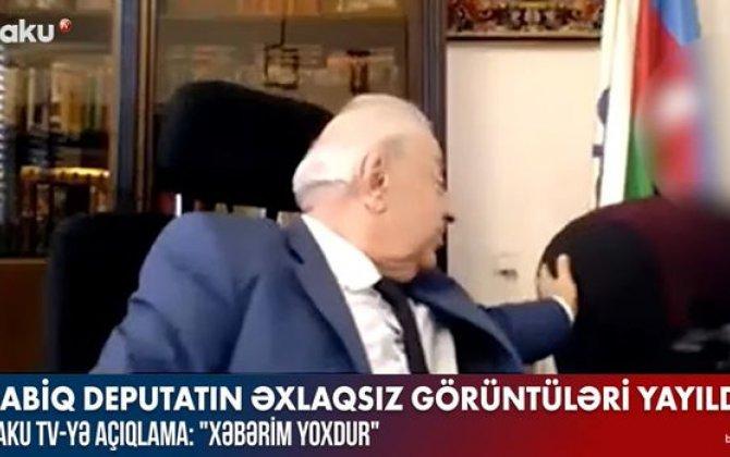 Biabırçı görüntüləri yayılan Hüseynbala Mirələmovdan AÇIQLAMA - VİDEO