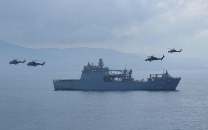 Türkiyə silahlanmaya yeni döyüş gəmisi daxil edib VİDEO