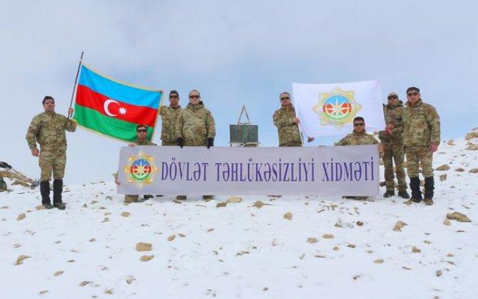 """DTX əməkdaşları """"Heydər zirvəsi""""nə yürüş təşkil edib - FOTO"""