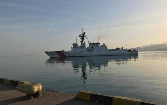 Gürcüstan Sahil Mühafizəsi Amerikanın USCGC