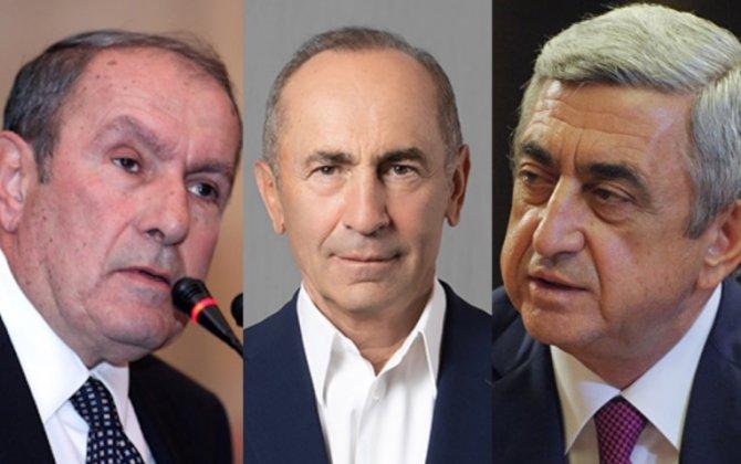 Ter-Petrosyan eks-prezidentləri Paşinyana qarşı birləşməyə ÇAĞIRDI