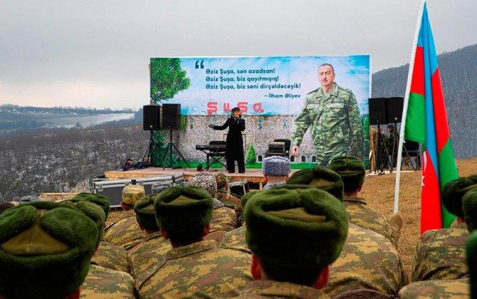 """""""Şuşada konsert keçirilmiş məkandan 20 metr aşağıda şəhidlərimiz uyuyur..."""""""