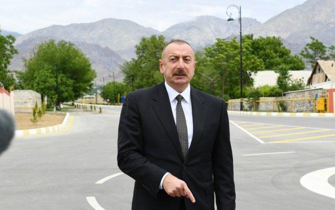 """İlham Əliyev: """"Azərbaycan ərazisində Dağlıq Qarabağ adlı ərazi vahidi yoxdur"""""""