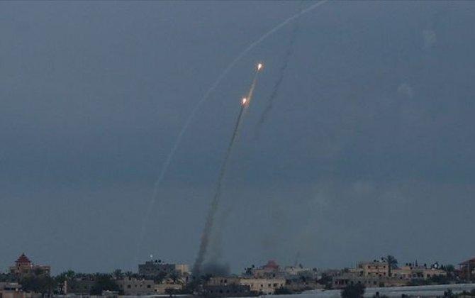 İsrail raket atəşinə tutulub: Ölən və yaralananlar var