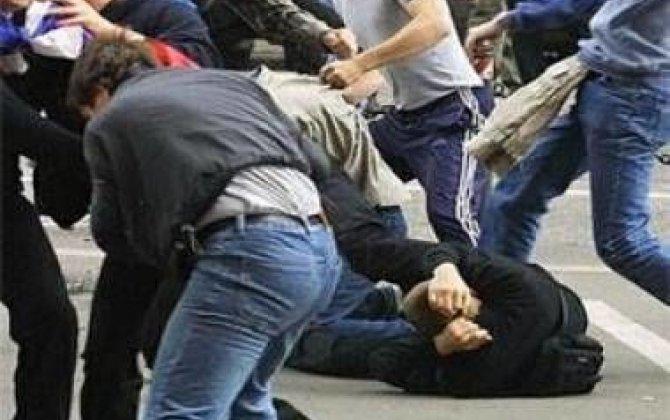 Svanlar azərbaycanlıları al-qana boyadı - Şok video