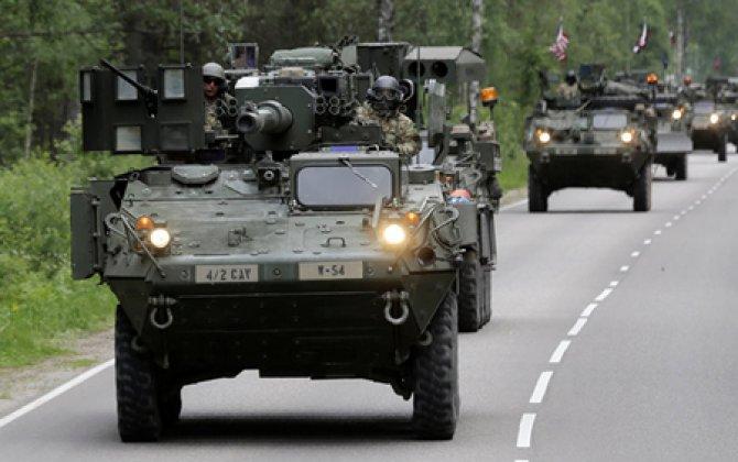 Rusiya ilə sərhəddə NATO təlimi başladı