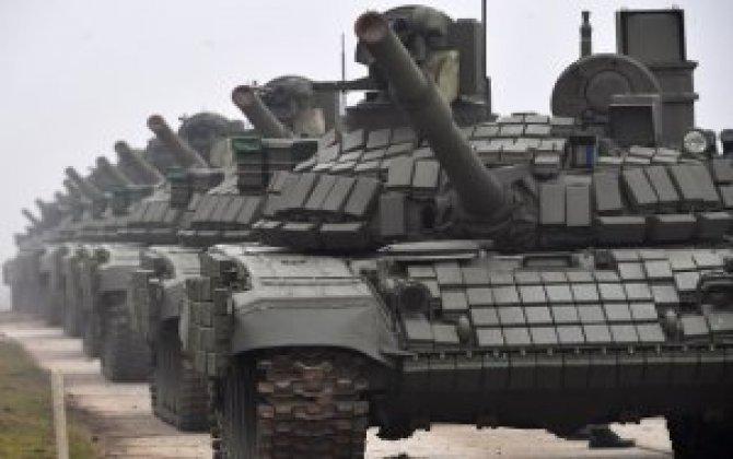 Rusiya dünyanın tank kralıdır-13 min ədəd! - ABŞ-da bundan 2 dəfə azdı...