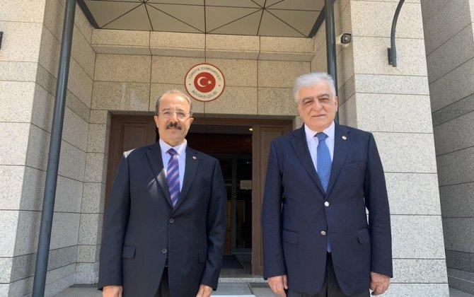 Türkiyə-Azərbaycan Parlamentlərarası Dostluq Qrupunun rəhbəri Bakıda səfərdədir