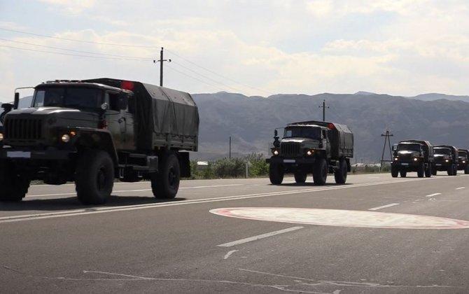 Azərbaycan Ordusu Naxçıvanda təlimlərə başlayıb - VİDEO