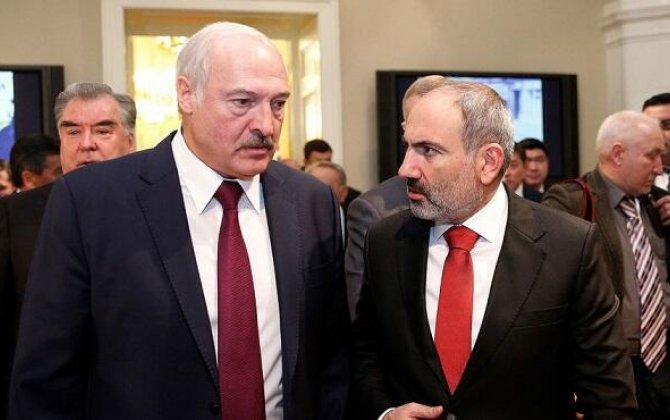 Paşinyan Lukaşenkoya zəng etdi