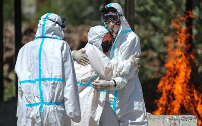 Hindistanda koronavirusdan sutkalıq ölüm sayında antirekord