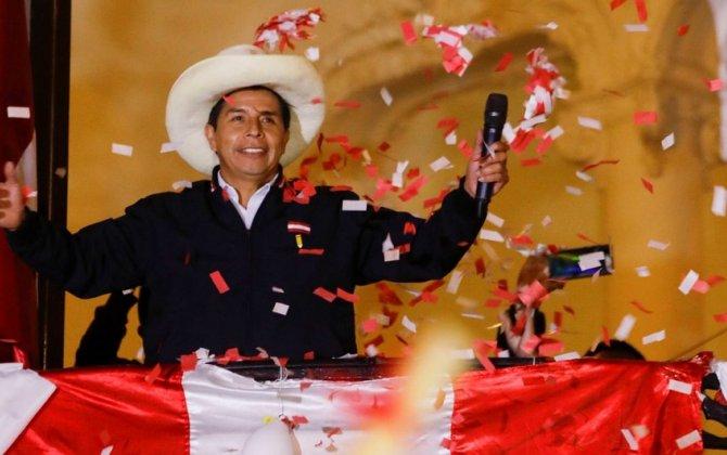 Perunun yeni prezidenti Pedro Kastilyo oldu