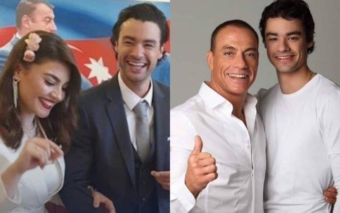 Van Dammın oğlu azərbaycanlı pianoçu ilə nişanlandı