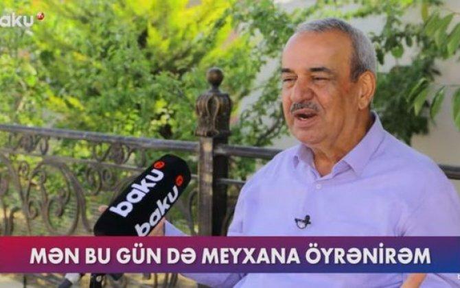 """Meyxanaçı Ağamirzə: """"Çayın pulunu verməmək üçün yalan danışırlar"""" – VİDEO"""