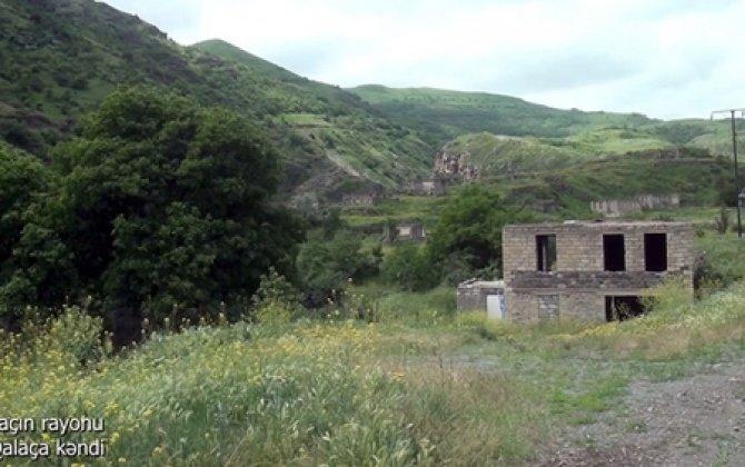Laçının Qalaça kəndi - VİDEO