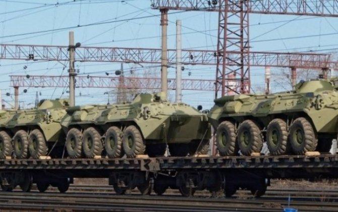 Rusiya yenə sərhədə qoşun yığmağa başladı - Kırıma 21 minlik xüsusi qruplaşma yeridildi