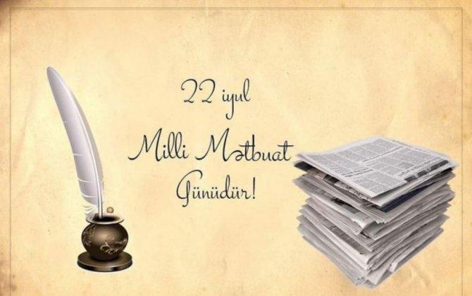 Azərbaycan milli mətbuatının yaranmasından 146 il ötür