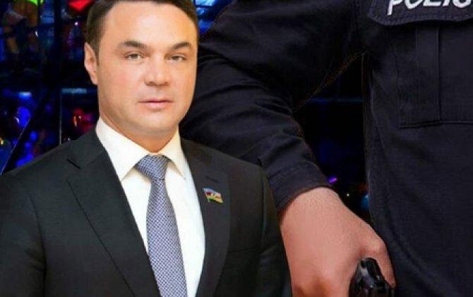 Polisi döyən deputatla bağlı şok faktlar - O, Ramiz Mehdiyevin nəvəsinin toyunda...