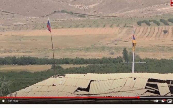 """""""Oradan rus bayrağını götürün, bu, rüsvayçılıqdır!"""