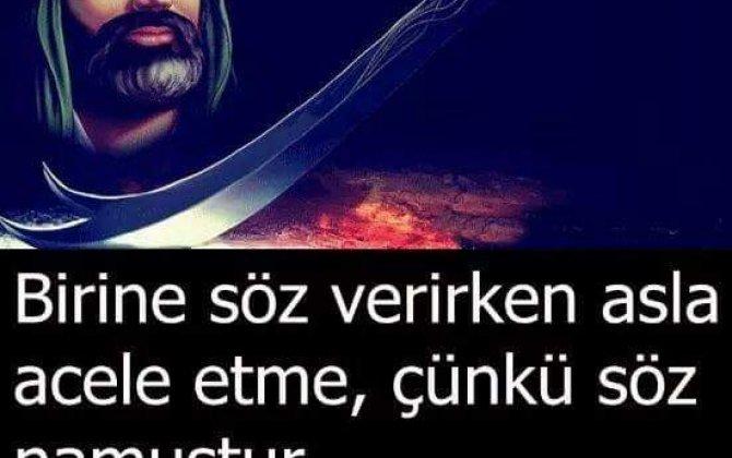 Söz verib əməl etməyənə Allah da nifrət edər...