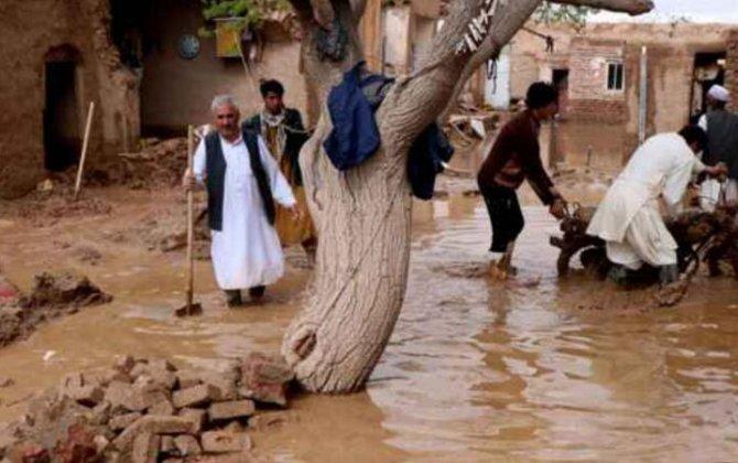 Əfqanıstandakı sel nəticəsində onlarla insan ölüb - VİDEO