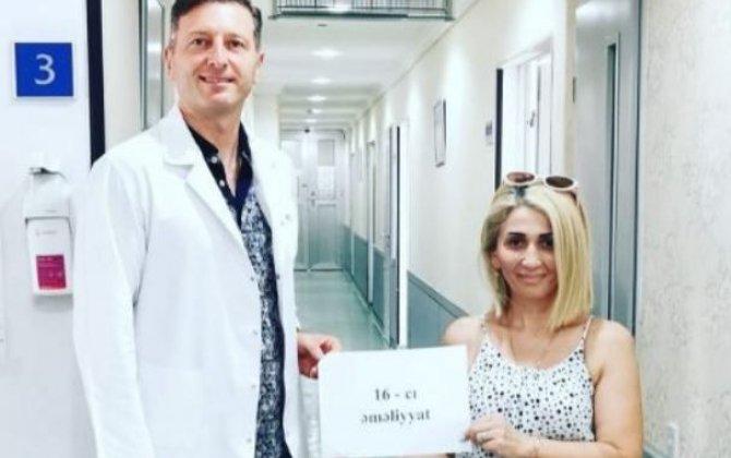 Azərbaycanlı qadın arıqlamaq üçün 16 dəfə əməliyyat keçirib - Sonuncusu Bakıda oldu...