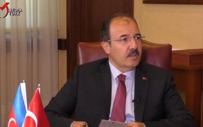 """Türkiyə səfiri: """"Qardaşlığımızı ürəkdən hiss edirik"""" - VİDEO"""