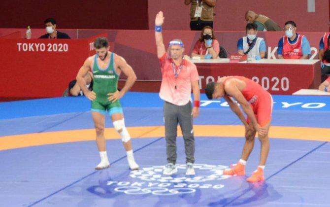 Tokio-2020-də güləşçimiz erməniyə qalib gələrək medal qazandı