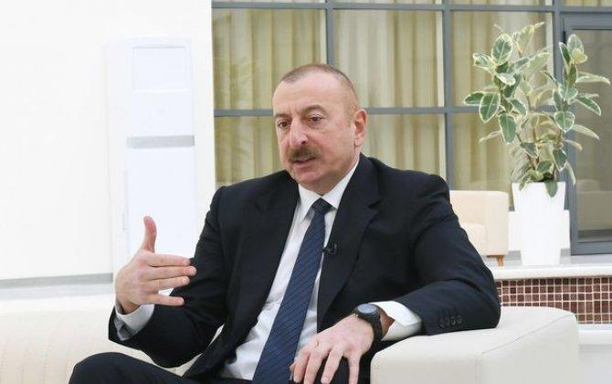 """İlham Əliyev: """"Azərbaycan tələb edir ki, Zəngəzur dəhlizində avtomobil yolu da çəkilsin"""""""