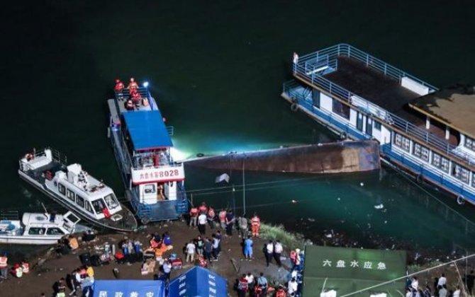 Çində sərnişin gəmisi aşıb: Ölən və itkin düşənlər var
