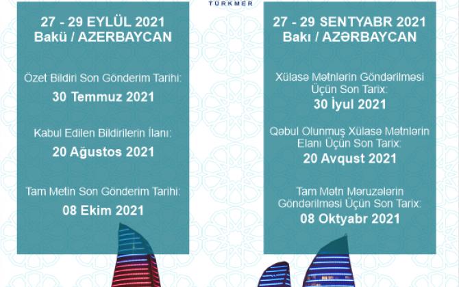 XIX Beynəlxalq Türk Dünyası Sosial Elmlər Konfransı UNEC-də