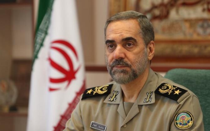 """İranın müdafiə naziri: """"Rəqibə sarsıdıcı zərbə endirəcəyik"""""""