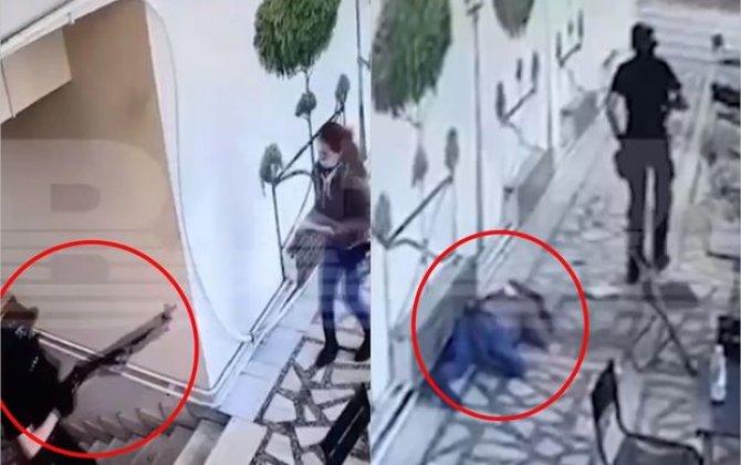 Perm qatilinin universitetdə qətliamının yeni görüntüləri yayıldı – ANBAAN VİDEO