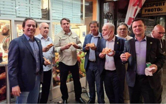 Braziliya Prezidenti restorana buraxılmadı - Foto