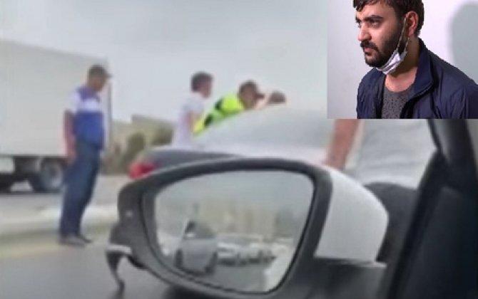 Maşınları əzən sürücü danışdı: