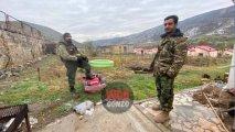 Andranik Laçının Zabux kəndində 12 köçkün erməni ailəsinə ev verdi...