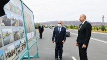 Prezident Culfa-Ordubad magistral avtomobil yolunun açılışında iştirak edib - YENİLƏNİB